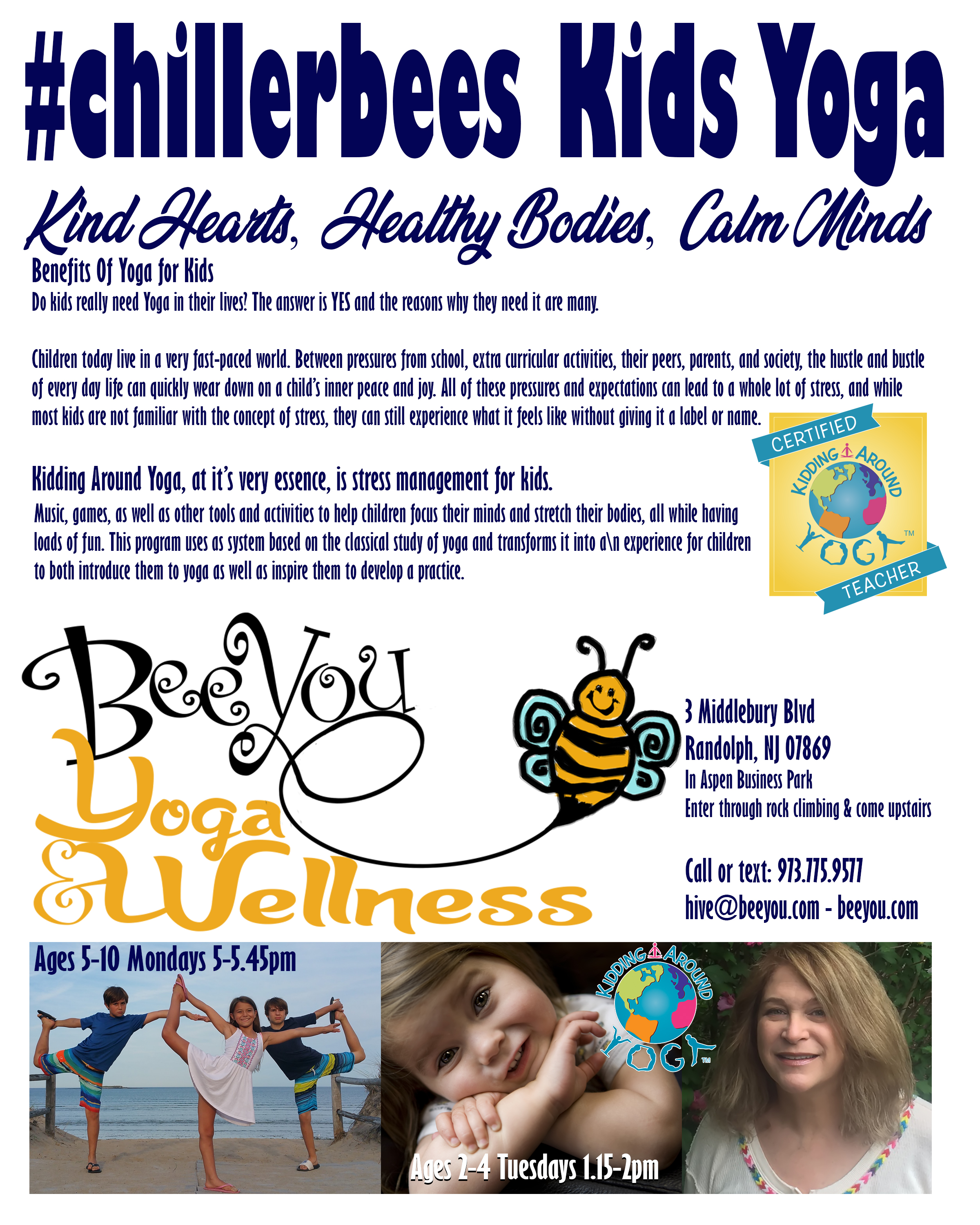 Bee You Yoga and Wellness - Yoga Therapy, Yoga, Yoga for anxiety, Yoga for depression, Yoga for recovery, y12sr, donation based yoga & meditation for everyone, kids yoga, BARRE, Sadie Nardini Yoga Shred Fusion, Full body conditioning, Yoga Nidra, Swedish massage, myofascial release, PSYCH-K, Reiki, BARRE, ZUMBA, Yoga Shred, Bee You Yoga, Yoga 07885, Yoga 07869, Randolph, Roxbury, Mine Hill, New Jersey, North Jersey, Morris County, Yoga Morris County, Buti Yoga, yogassage, theta healing, kidding around yoga