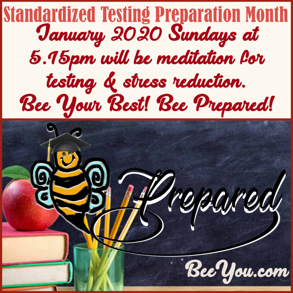 Bee Prepared! Bee Your Best!